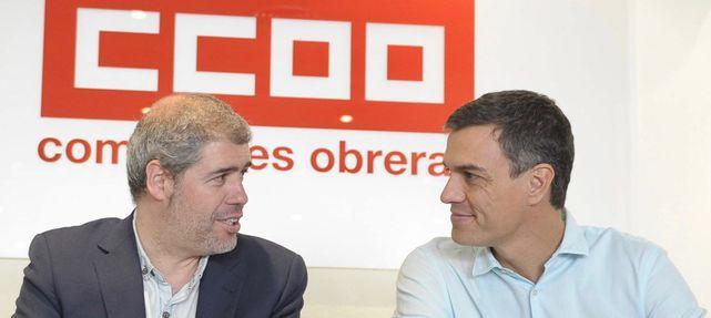 Los sindicatos dan oxígeno a Sánchez: no exigirán la derogación de la reforma laboral