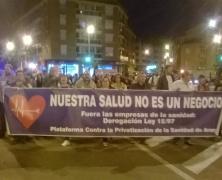"""Actos contra la """"MAFIA SANITARIA"""". TODOS EN HUESCA."""