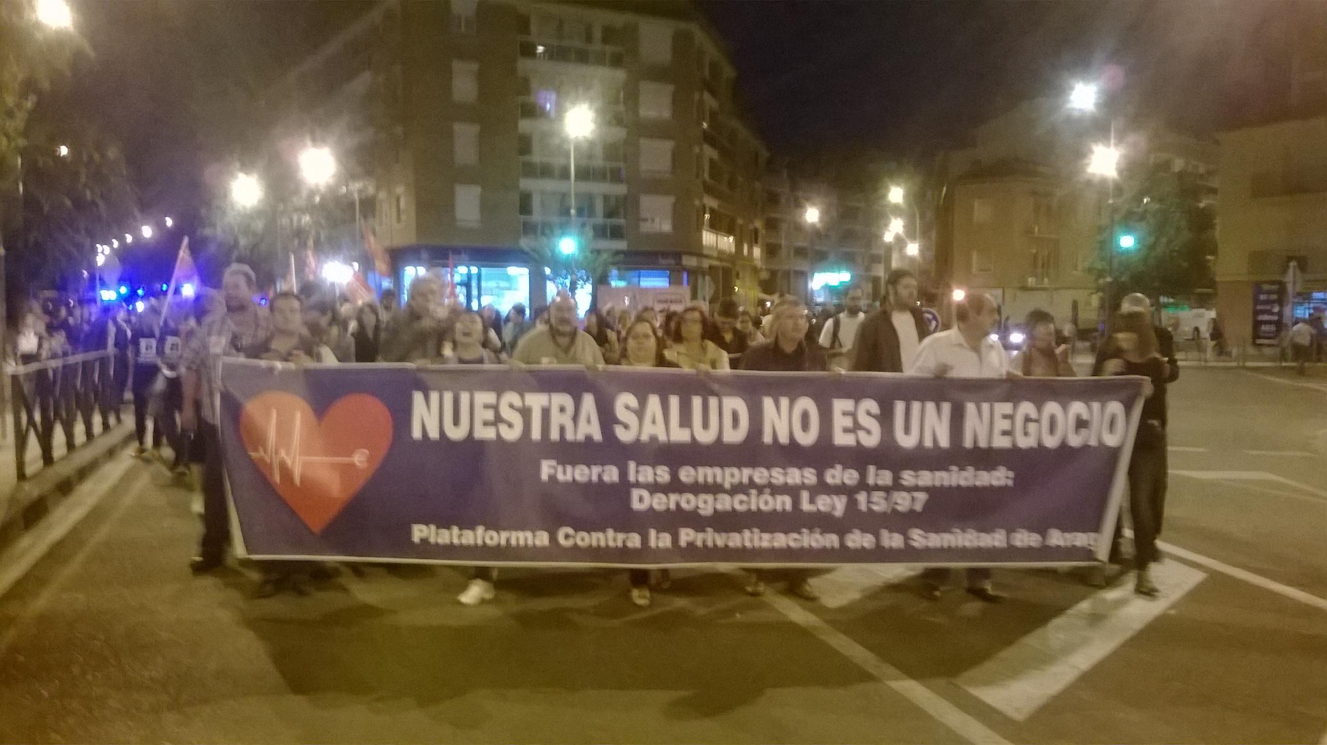 Actos contra la «MAFIA SANITARIA». TODOS EN HUESCA.