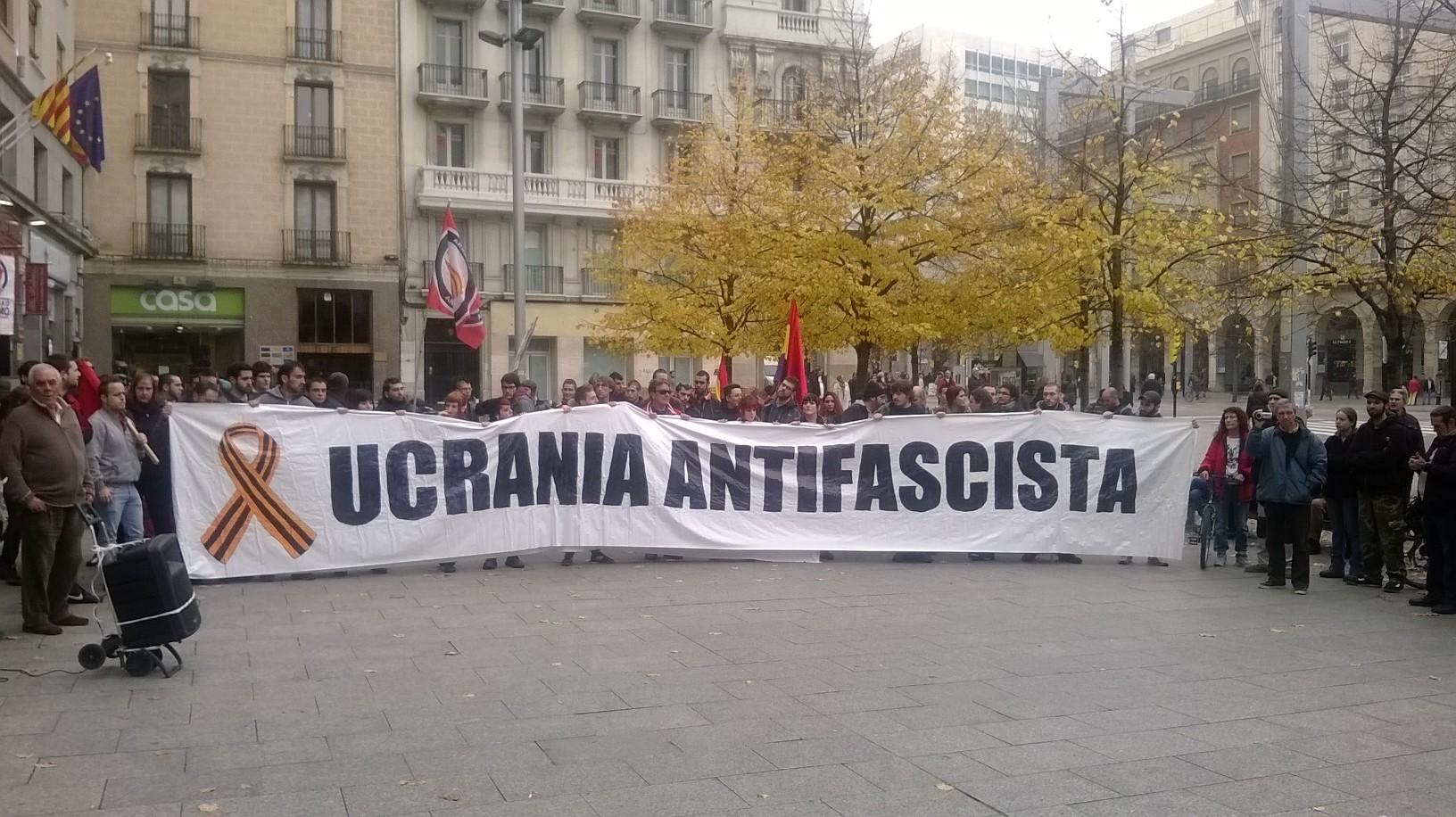 Los barrios de Zaragoza se unen contra el fascismo