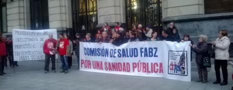 """La Plataforma de Afectados por Hepatitis C en Aragón exige """"el acceso de todos los afectados al tratamiento"""""""