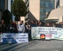 """Vestas Incumple su primer mandato """"la seguridad es lo primero"""". Información a los trabajador@s de Vestas."""