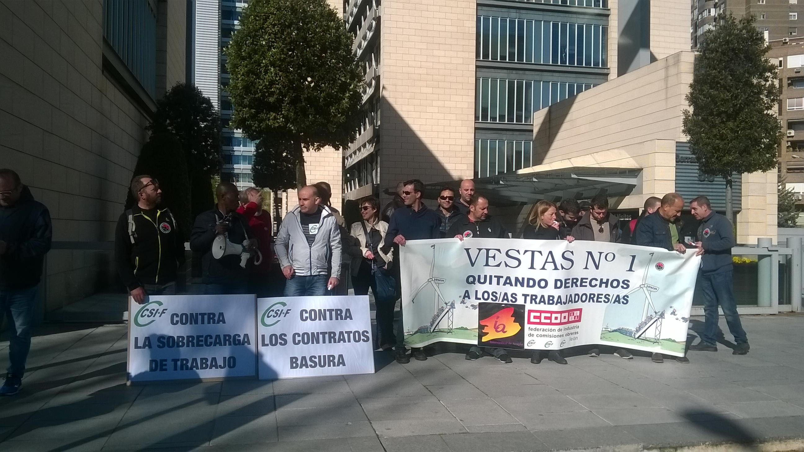 Vestas Incumple su primer mandato «la seguridad es lo primero». Información a los trabajador@s de Vestas.