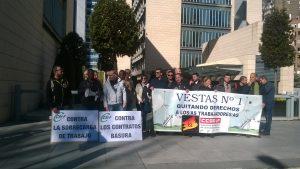 Vestas Centrovía: Acciones de apoyo a los compañeros de las fabricas