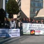 Concentración en Madrid. (videos y fotos) VESTAS EOLICA Nº1, QUITANDO DERECHOS A LOS/AS TRABAJADORES/AS