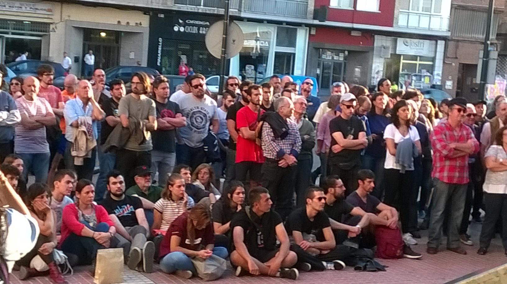 Gran acto en Zaragoza por el derecho a decidir, a pesar de la prohibiciónjudicial