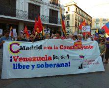 Madrid con la constituyente y el pueblo Venezolano. ¡¡NO PASARAN!!