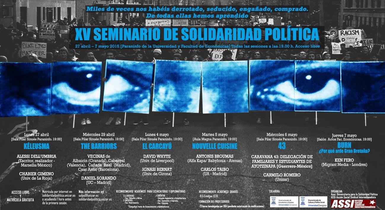 XV SEMINARIO DE SOLIDARIDAD POLÍTICA
