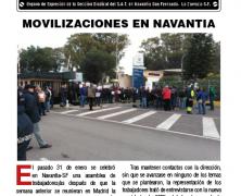 Yunke Nº4 . Revista obrera. Órgano de Expresión de la Sección Sindical del S.A.T. en Navantia San Fernando. La Carraca-S.F.