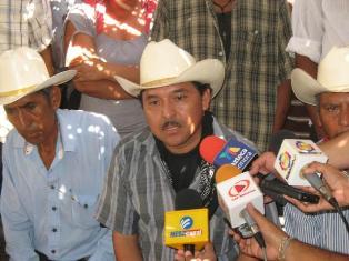 Pronunciamiento contra la detención de Mario Luna, vocero de la Tribu Yaqui