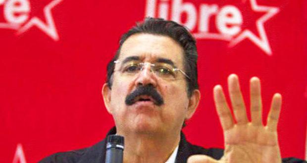 HONDURAS. Manuel Zelaya llama a un paro nacional para acabar con dictadura de Hernández