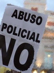 La policía nuevamente vuelve a violar los derechos fundamentales de las personas