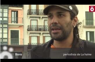 Boro (La Haine): «Quieren silenciar las voces disidentes». #6añosXinformar