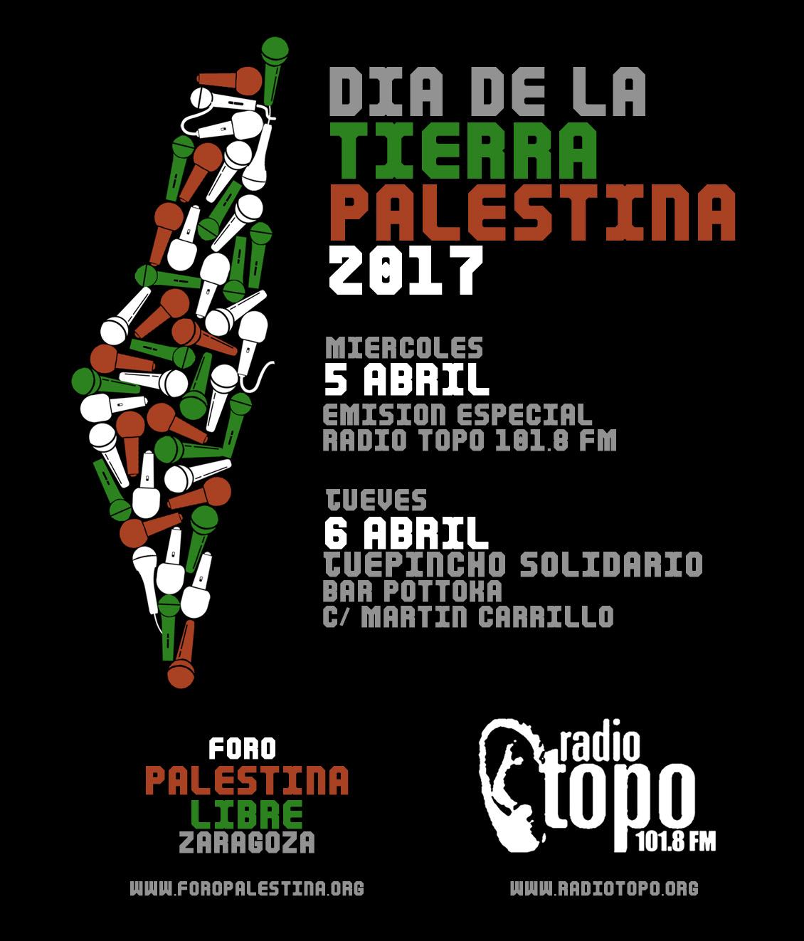 Celebración del Dia de la Tierra Palestina 2017