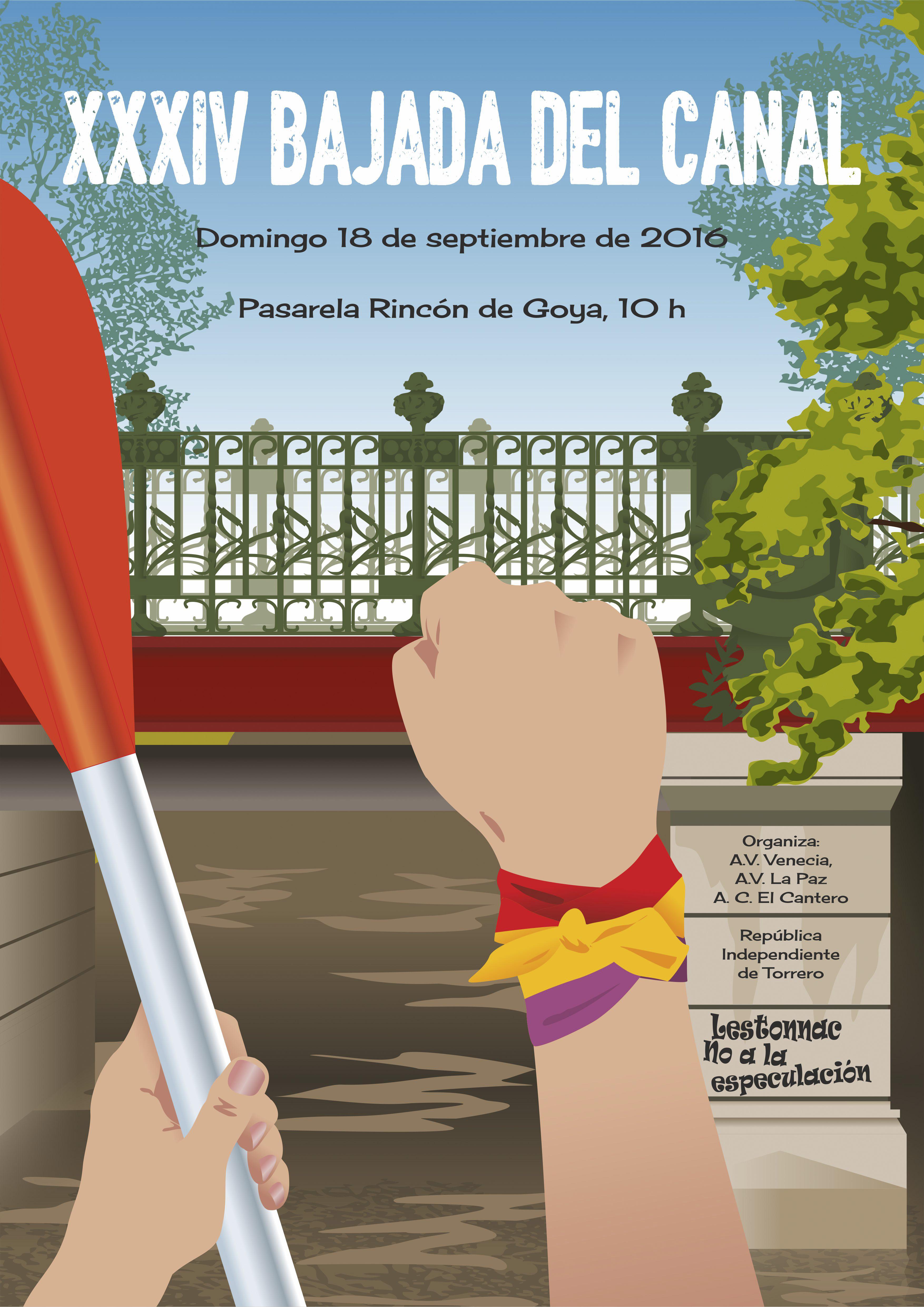 SEMANA CULTURAL, BAJADA DEL CANAL DEL 10 AL 17 DE SEPTIEMBRE DE 2016