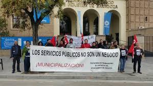 Nota de prensa de los representantes de los trabajadores de la Depuradora de la Almozara