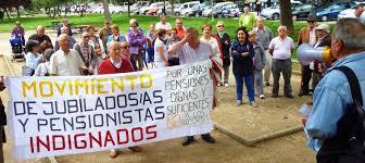 MANIFESTACION EN DEFENSA DEL SISTEMA PÚBLICO DE PENSIONES. Madrid 1 de Octubre