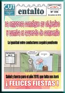 Entalto 356. Revista mensual informativa para los trabajadores. Por CUT