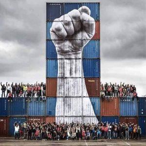 Apoyemos a los estibadores: Si ellos ganan ganamos todos! + Los estibadores apoyan a Las Marchas de la Dignidad, salimos el 25F.