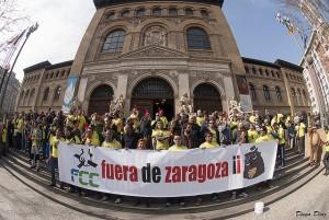 La plantilla de FCC Parques y Jardines de Zaragoza abocada a la huelga indefinida