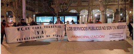 Trabajadores de AUZSA y FCC limpieza urbana, anuncian posibles movilizaciones.