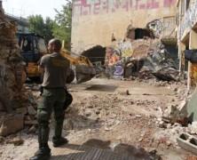 El gobierno griego reprime y desaloja espacios ocupados para refugiados en Tesalonika