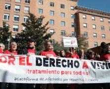 """Enfermos de Hepatitis C se encerrarán en Toledo si no se """"levanta la veda"""" en tratamientos"""