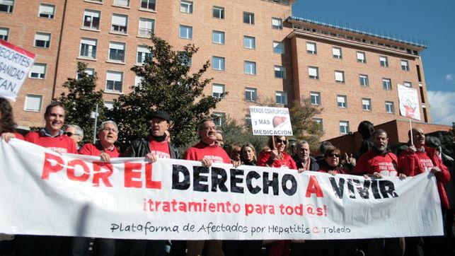 Enfermos de Hepatitis C se encerrarán en Toledo si no se «levanta la veda» en tratamientos