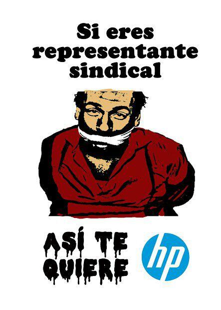 L@s compañer@s de HP necesitan del apoyo de tod@s nosotr@s. Concentraciones 8 de Noviembre.