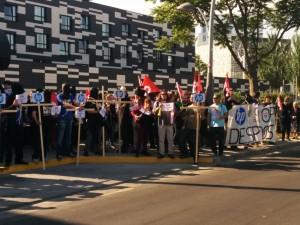 Huelga en HP: Concentración mañana, lunes 26 en frente del Hotel Tryp,9:30h