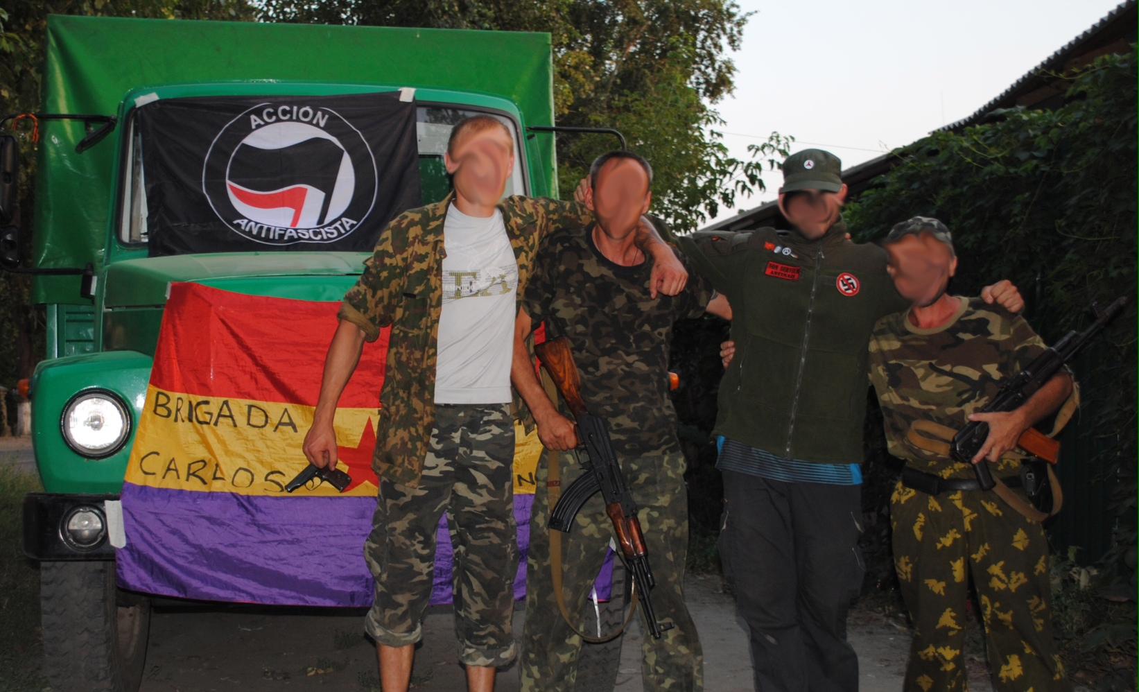 GUERRA CONTRA EL FASCISMO EN UCRANIA. Comunicado de la Brigada Internacional Carlos Palomino