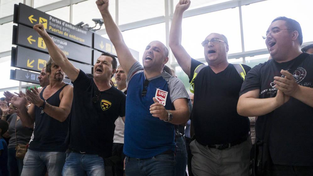 Los trabajadores de Eulen insisten: nueva huelga para el 6 de octubre en El Prat
