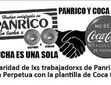 Trabajadorxs de Coca – Cola y Panrico, ejemplo de solidaridad entre trabajadores…