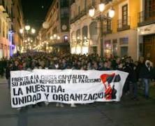 ESTE ENERO 18 ANTIFASCISTAS DE MADRID SE ENFRENTA A HASTA 7 AÑOS DE PRISION