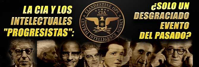 LA CIA DESCATALOGA LOS DOCUMENTOS DE SU COLABORACIÓN CON INTELECTUALES «PROGRESISTAS»