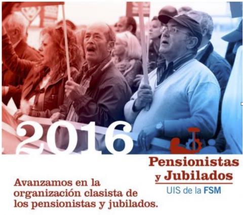 Intervención de Quim Boix en el Consejo Presidencial de la Federación Sindical Mundial