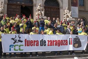 """""""LOS JARDINEROS COMIENZAN MOVILIZACIONES CONTRA EL DELEGADO DEL GOBIERNO GUSTAVO ALCALDE"""""""
