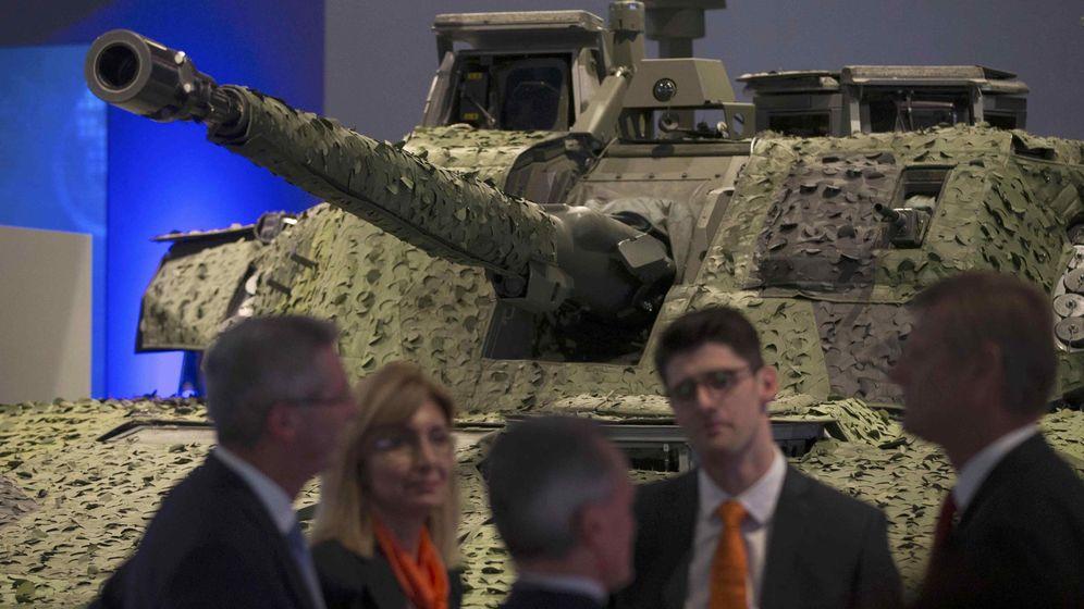 Los 'lobbies' de armamento seducen a Europa para que multiplique el gasto militar