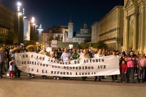 Los trabajadores denuncian a la empresa AUZSA
