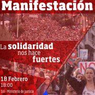 Manifestación #18FAntirepresivo