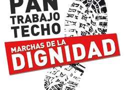 Las Marchas por la Dignidad en Aragón apoyan la huelga general de Educación del 9 de marzo y animan a la ciudadanía a tomar las calles