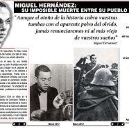 75 años del asesinato del poeta Miguel Hernández. Prensa Obrera Yunque 05