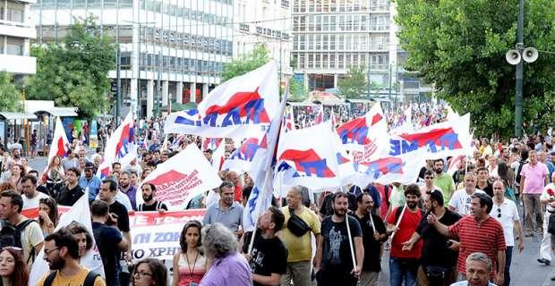 Miles de trabajadores se movilizan nuevamente en Grecia en contra del gobierno de Syriza