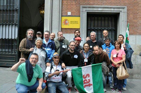 #HuelgaHambreSAT 16 días de Huelga y lucha por la libertad de Andrés Bodálo