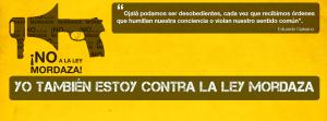 Zaragoza, mordazas y amenazas.
