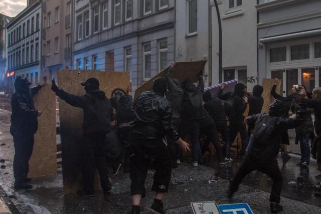 Reportaje: #NoG20, una semana en Hamburgo. Aún hay compañer@s represaliados.