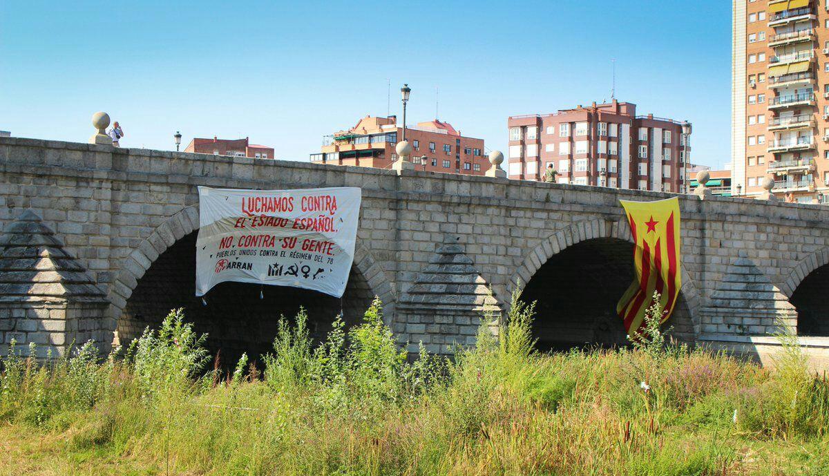 """""""Luchamos contra el estado español, no contra su gente"""""""