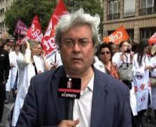 Más de 70 mil trabajadores de hospitales franceses inician huelga