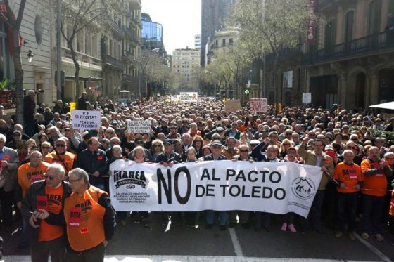 NO AL PACTO DE TOLEDO. Comunicado y videos