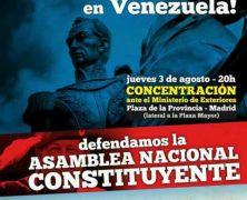 Concentración. ¡Basta de injerencia imperialista del Gobierno español en Venezuela! + Interesantes Artículos + Video